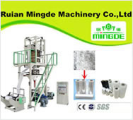 Heat Sealing Cold Cutting Plastic Bag Making Machine